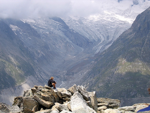 Aletsch Glacier in Switzerland by Governor Gary Johnson, via Flickr