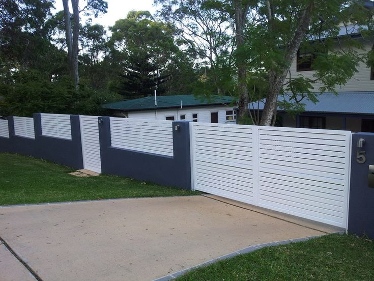 55 Best Images About Horizontal Slat Gates On Pinterest