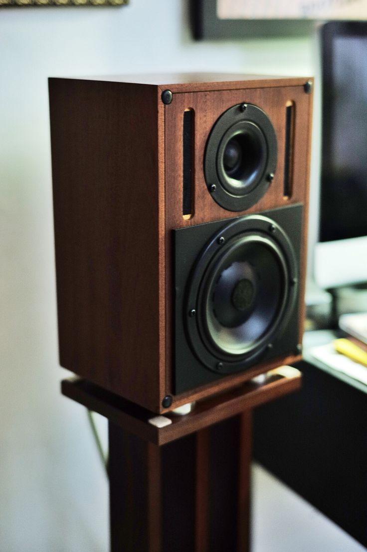 464 Best Loudspeaker Design Bookshelf Monitors Mounted