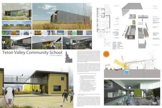 Teton Vale Community School wins 2009 open architecture challenge