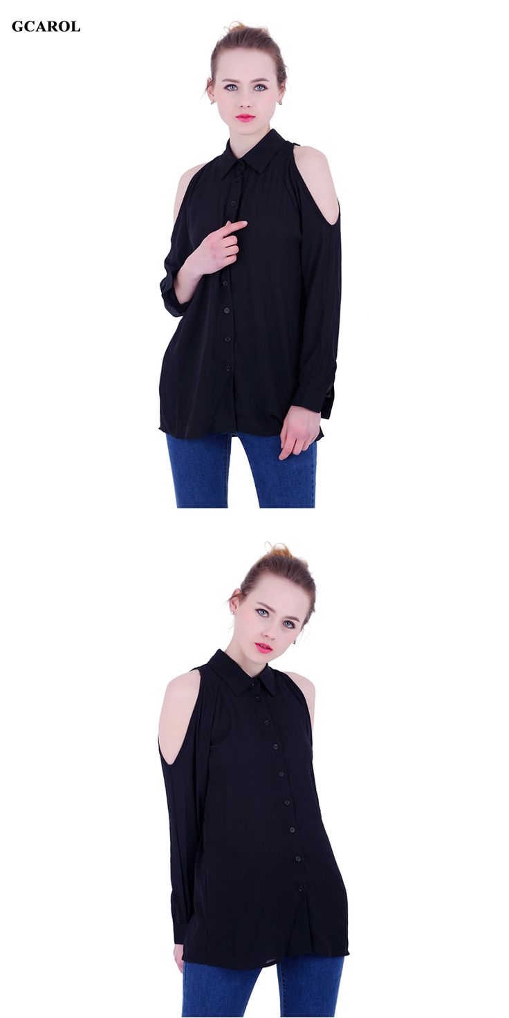 Women's blouse with bare shoulders. Every girl will look beautiful and attractive. You can go as a job and in a restaurant in this blouse. Price $14.69 #Fashion #Beauty