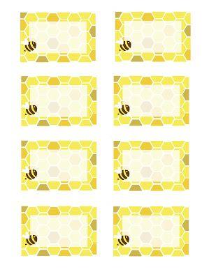 Everyday Art: Honeybee Printables