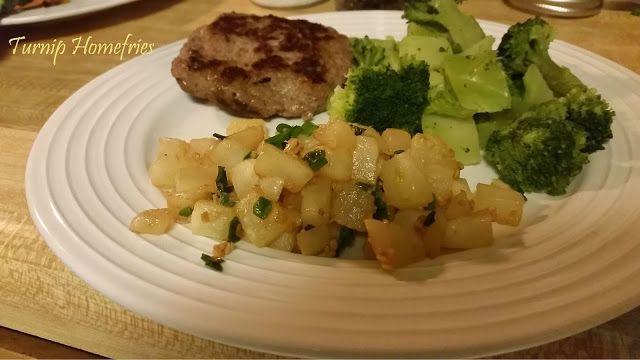 Roasted Turnip Homefries