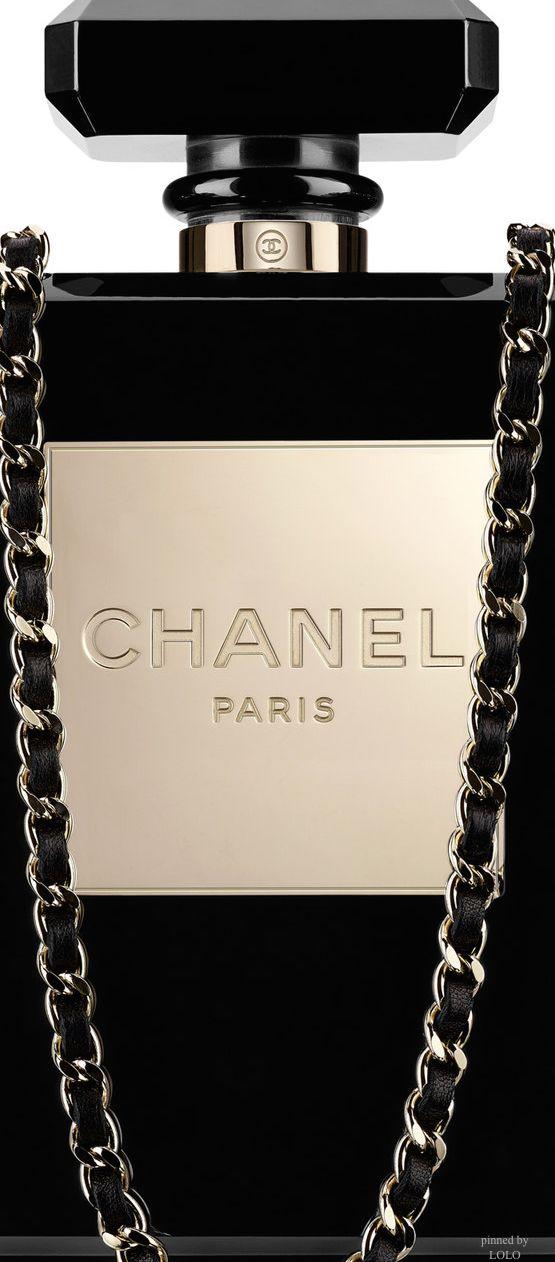 CHANEL ~ Perfume Bottle Shaped Evening Bag