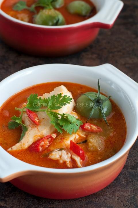 Asampadeh - Indonesian Hot & Sour Fish Soup