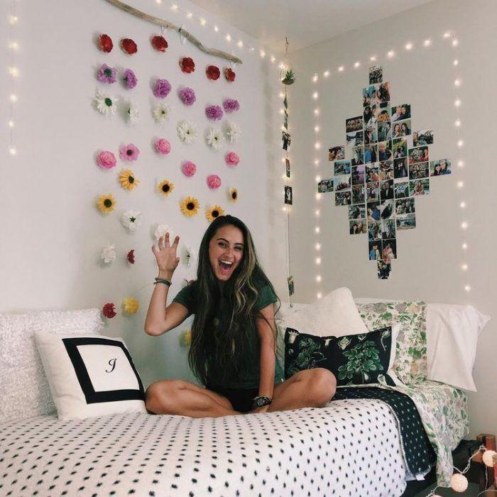 33+ Ideas para Collage de Fotos para Decorar tu Cuarto | Dorm room ...