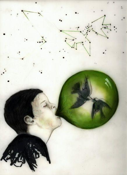 Belga Series, 2003 - Bubble Wish Face