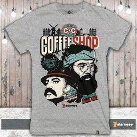 Camiseta Cheech e Chong Coffee Shop