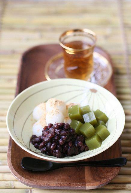 Japanese sweets, Anmitsu