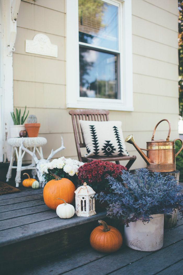 Thoughts from Alice: Boho Eclectic Fall Home Tour