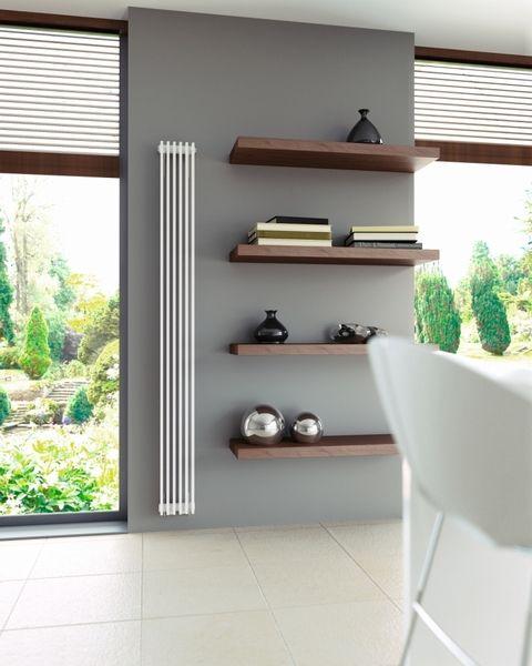 Brookly robuuste woonkamer radiatoren in wit betaalbare Design radiatoren woonkamer