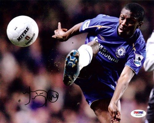 Shaun Wright-Phillips Autographed 8x10 Photo England PSA/DNA
