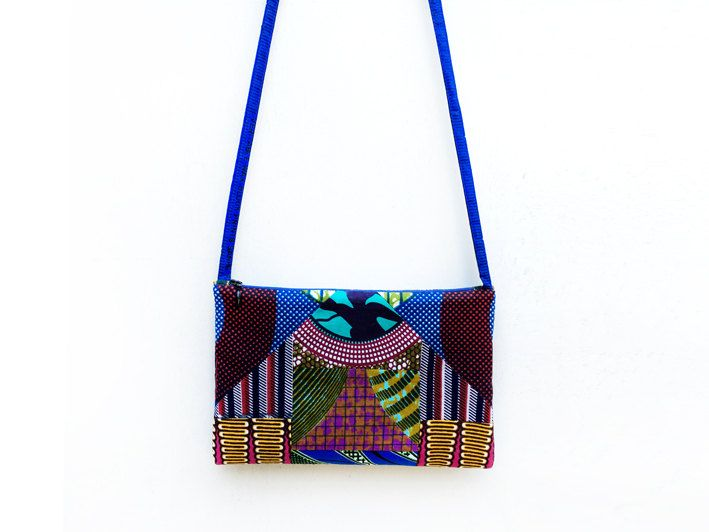 African Patchwork Bag, Eco Friendly Bag, Crossbody Purse, Mosaic Bag, African Fabric Purse, Unique Clutches, African Print, Gift for Women by ALUMAhandmade on Etsy