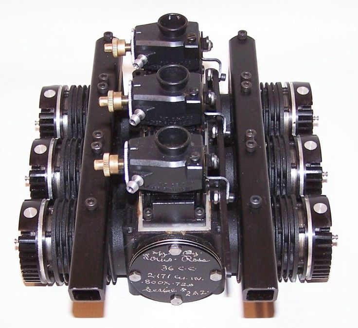 New RARE Louis Ross 36cc Opposed 6 Cylinder R C Model Airplane Engine   eBay
