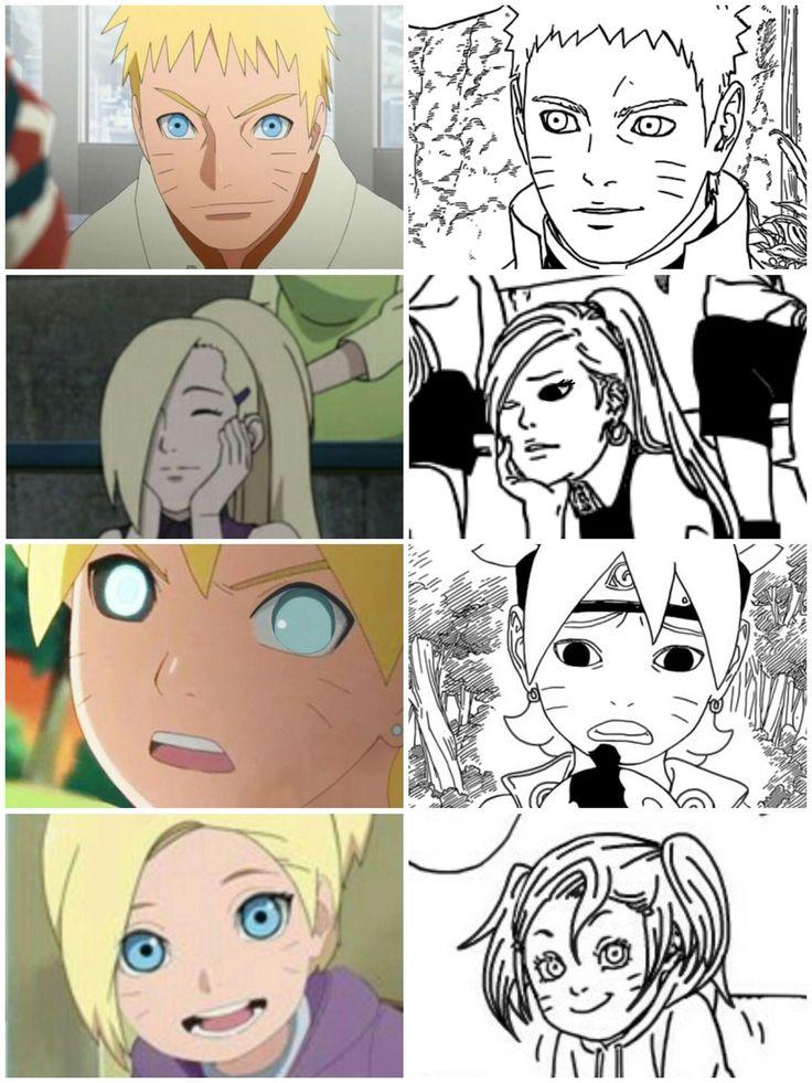 Imágenes NaruIno in 2020 Yandere anime, Uzumaki boruto
