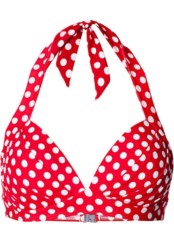 Push-up Bikini Oberteil, Cup A rot/weiß gepunktet - bpc bonprix collection jetzt im Online Shop von bonprix.de ab ? 16,99 bestellen. Mit gepolsterten ...