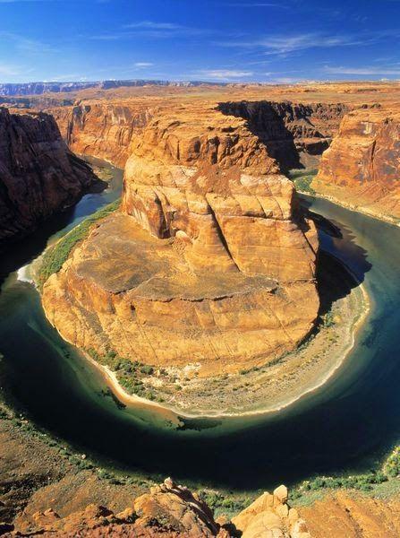 Horseshoe Bend, Colorado River, Arizona USA