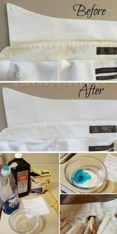 hoping to remove yellow sun stain from sheer curtains....How to Remove Yellow Stains from Your Shirts