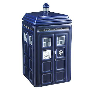 Doctor who cookie jar from lakeland step inside my tardis pinterest cookie jars doctor - Tardis cookie jar ...