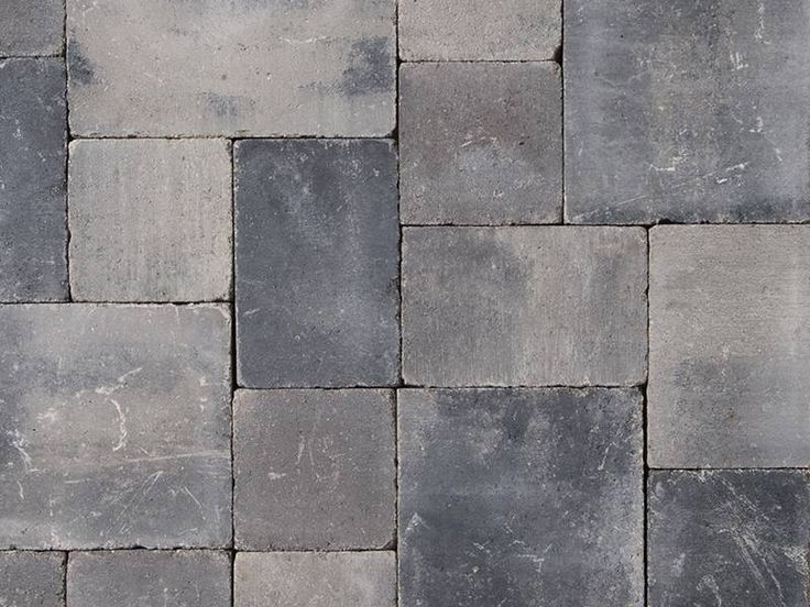 Abbeystones wildverband 6 cm getrommeld grijs/zwart