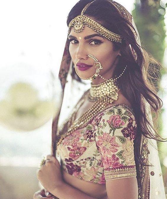 Bride of an Indian wedding