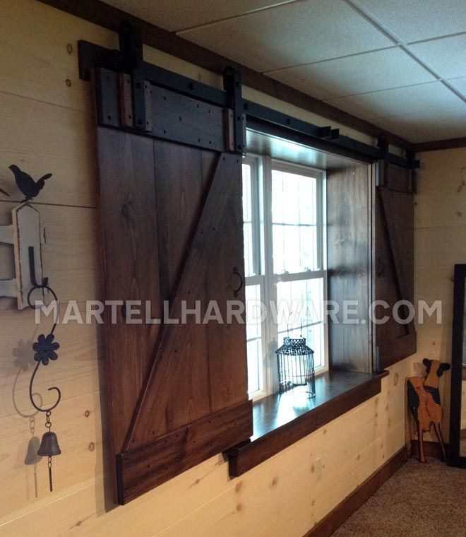 BARN DOOR SHUTTERS IN BEDROOM - Google Search