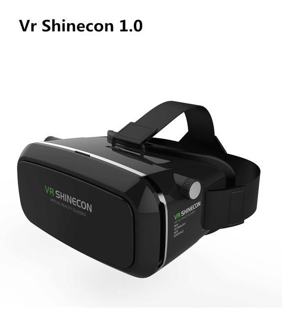 VR Shinecon II 2.0 Virtual Reality Glasses with Gamepad