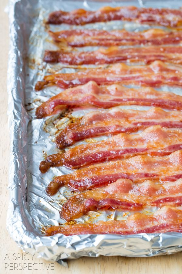 The easiest and cleanest way to prepare bacon is to cook it in the OVEN! Today's oven bacon makes crispy bacon without all the splatter.