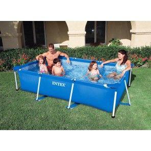 Rechthoekig zwembad voor de hele familie. Verschillende maten!https://www.buitenspeelgigant.nl/zwembad/familie-zwembaden/