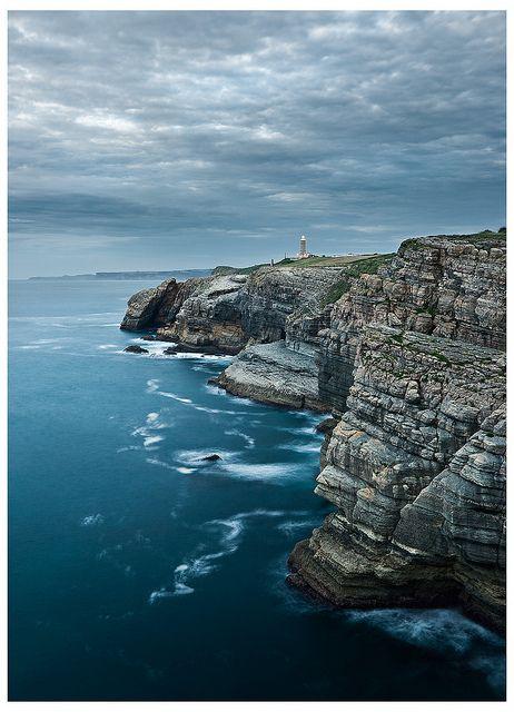 Cliffs Of Santander - Cabo Mayor Lighthouse