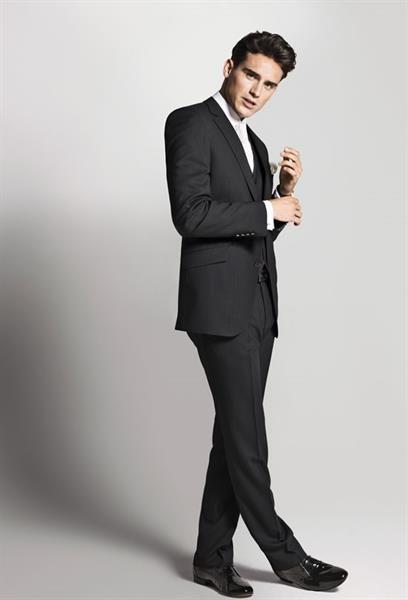 Купить костюм мужской черный
