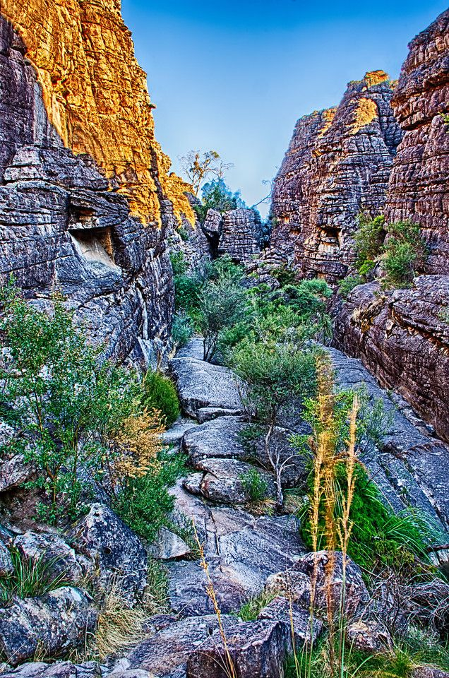 Grand Canyon, Halls Gap; Australia