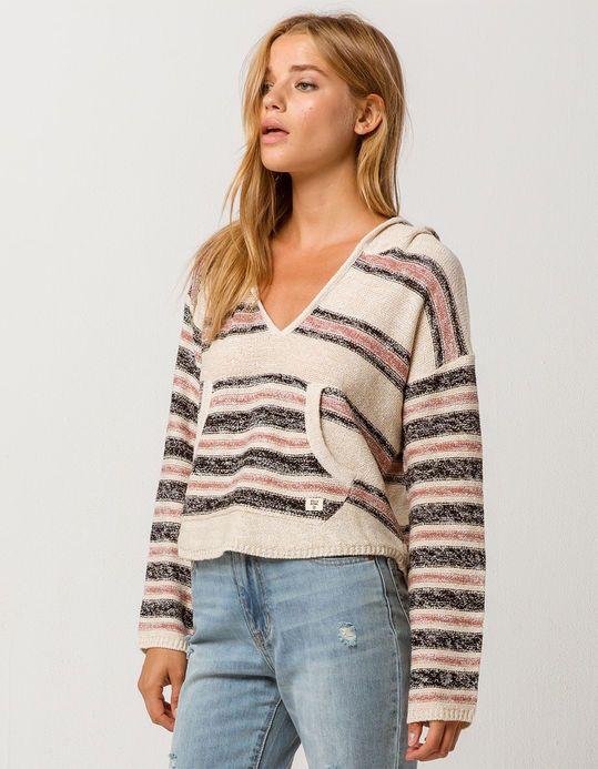 707f404822 BILLABONG Baja Beach Cream Womens Hooded Sweater | Wishlist 2019 in ...