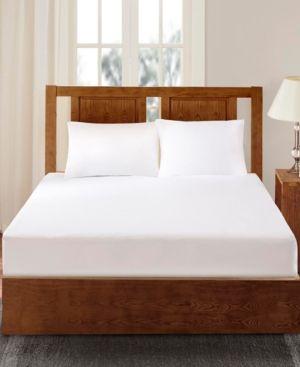 Bed Guardian by Sleep Philosophy 3M Scotchgard Waterproof Bed Bug Queen Mattress Protector - White