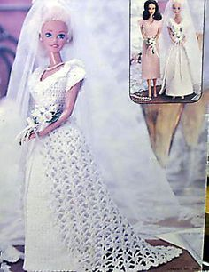 30 Free Crochet Patterns for Barbie Doll Clothes - Yahoo! Voices