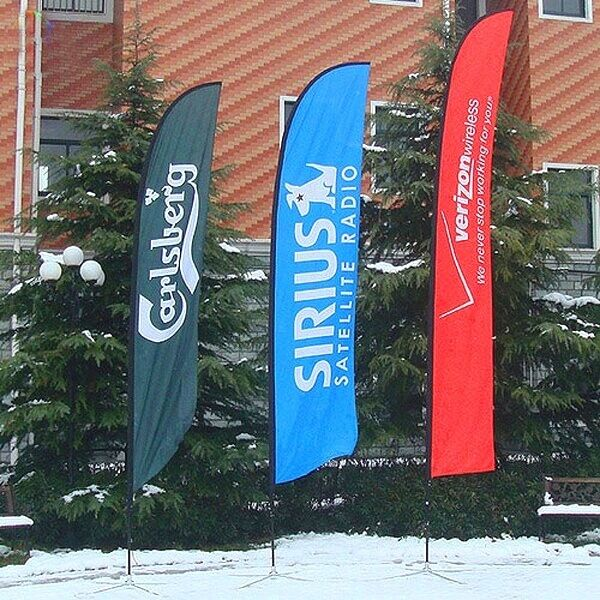 Outdoor Feather Flags