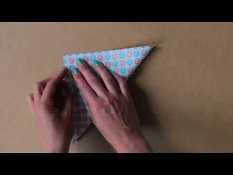 ▶ Origami kraanvogel vouwen - YouTube
