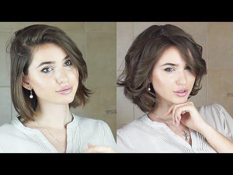 Как Накрутить Волосы Утюжком / Голливудские Локоны - YouTube