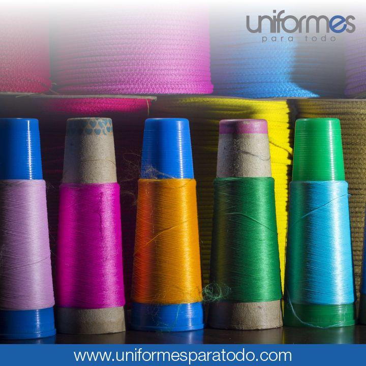 ¿De qué color te imaginas tu uniforme? Cuéntanos para hacerlo realidad. #UniformesParaTodo #Diseño #Hilo #Personalizar
