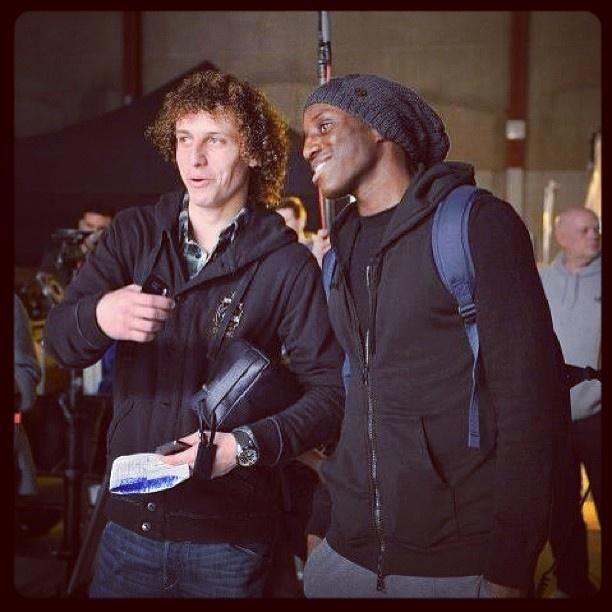 David Luiz & Demba Ba =)