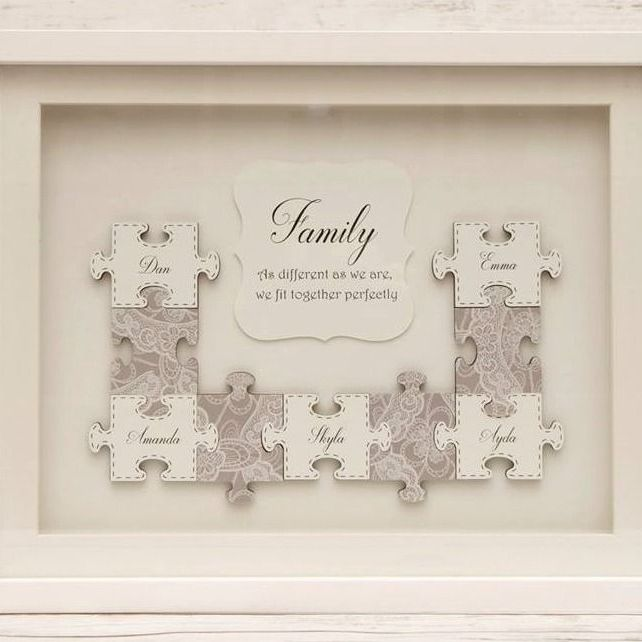 Product Description Jigsaw Puzzle Framed Art - Large Frame - 14 X 11 These jigsaw puzzle pictures will be hand made with your own personalisation