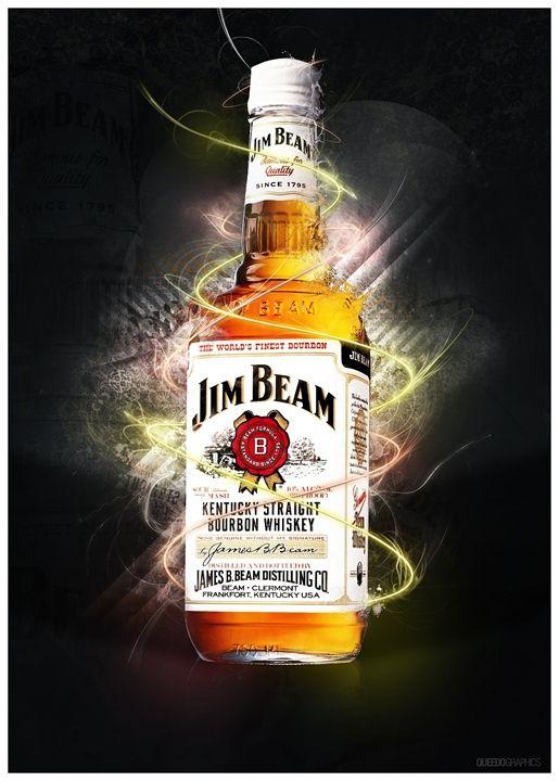 Jim Beam Whiskey © Jim Beam (произносится: джим бим) — наиболее продаваемый по всему миру бренд бурбона. Jim Beam удовлетворяет требованиям, предъявляемым к бурбону: его сусло состоит бол...