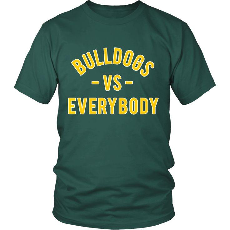 BULLDOGS VS Everybody (Wilberforce University inspired)