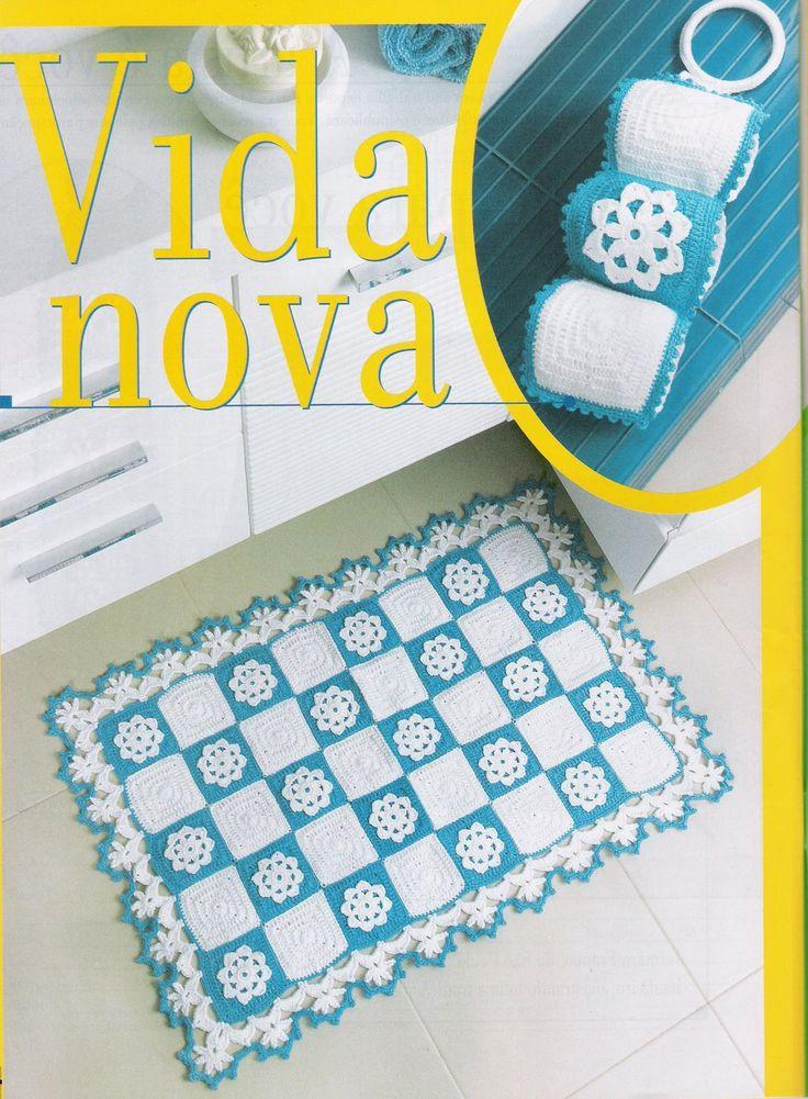 Janja croche: Banheiros