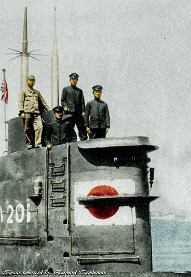 "nwobhmjp: ""Imperial Japanese Navy Submarine Ha201. """
