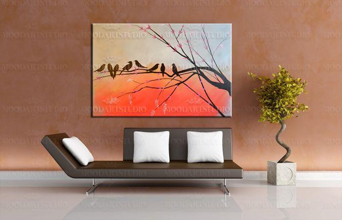 http://www.moodartstudio.es/cuadros-abstractos/107-cuadro-moderno-puesta-del-sol-birds-.html
