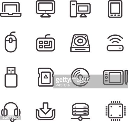 Vector Art : Computer Icons - Line Series