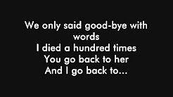 amy winehouse back to black lyrics - YouTube