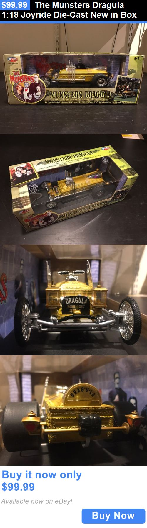 Toys And Games: The Munsters Dragula 1:18 Joyride Die-Cast New In Box BUY IT NOW ONLY: $99.99