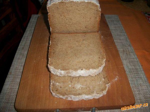 Slunečnicový chléb s kefírem